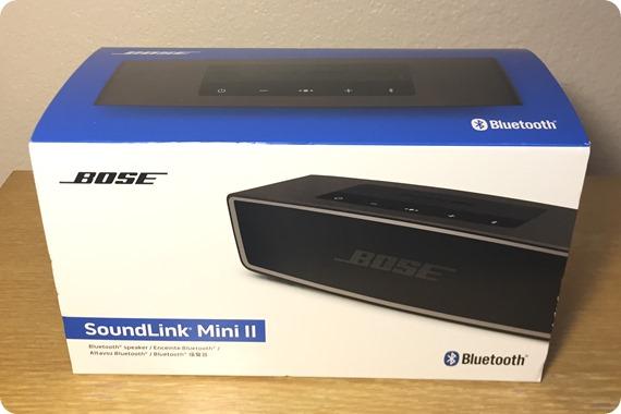 SoundLink Mini II外箱