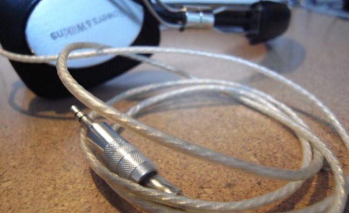 B&WのP5のリケーブルを自作してみた記事画像01
